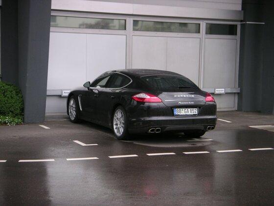 Porsche Panamera Turbo Heck