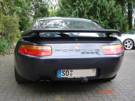 928 GT, Heckansicht (mit AHK ;-)