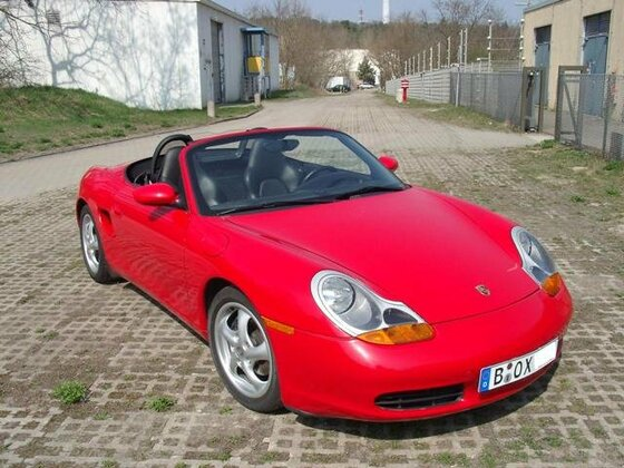Boxster offen