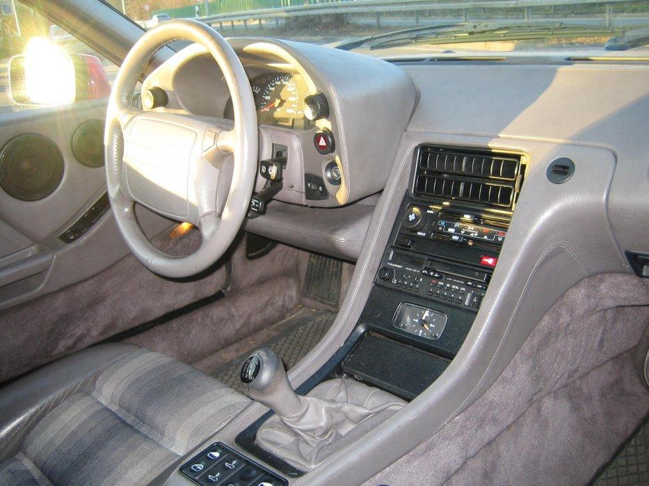 Cockpit aus Beifahrersicht