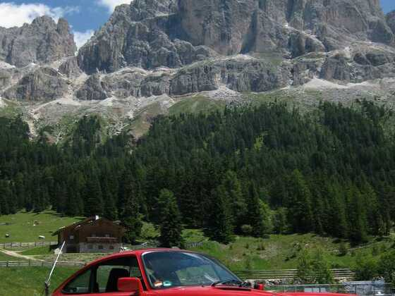 Dolomiten Passo Nigra (tw frisch asphaltiert!)