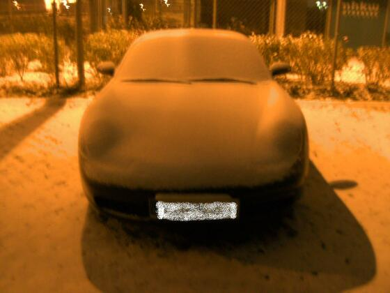 Boxster im Winter