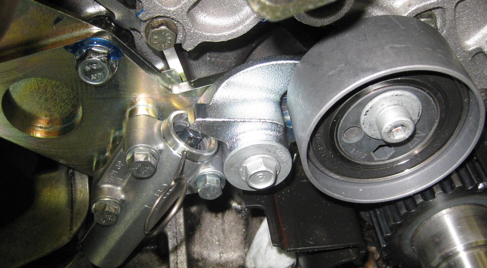 Porkensioner, der alternative Riemenentspanner aus dem Audi V6