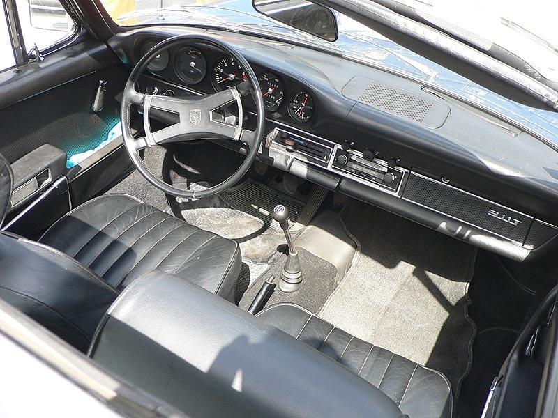 Porsche 911T Innenraum