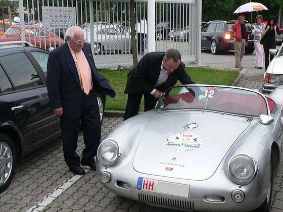 Porsche 550 Spyder Herbert Linge