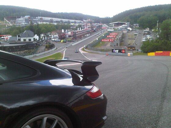 Porsche 997 GT3 - 2011 Spa Francorchamps Porsche days - schönste Rennstrecke der Welt !