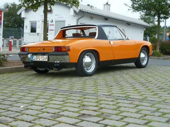 Porsche 914 Zufahrt Nordschleife