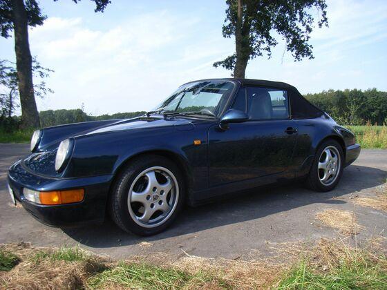 964 mit 993 Cabrioverdeck