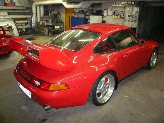 993 RS Clubsport Umbau