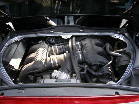 Motor von Oben