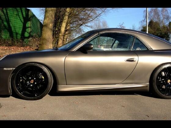 996 im neuen Kleid mit 997 Turbo Felgen