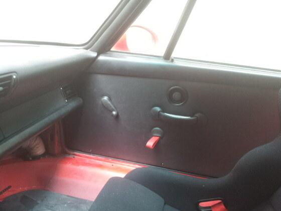 993 RS Clubsport, mechanische Fensterheber