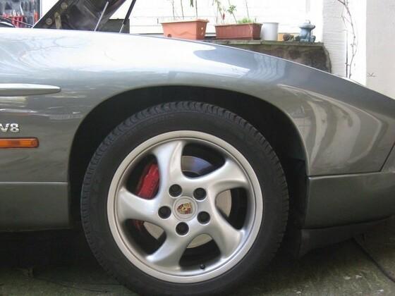 Mille Miglia im Sommer und bei WR mit RH - Felgen, gleiches Design
