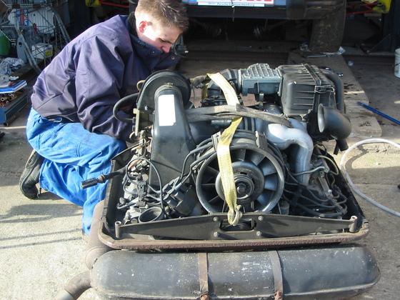 revision cabrio motor 2008