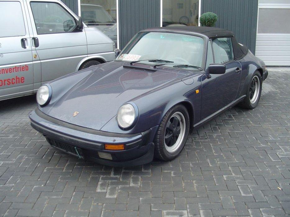Mein 911 Cabrio bei Elferhus in Ratekau zum Verkauf