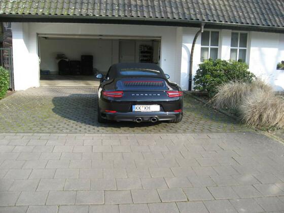991.2 S Cabrio Heck