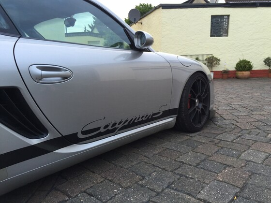 Cayman S GT3 Front