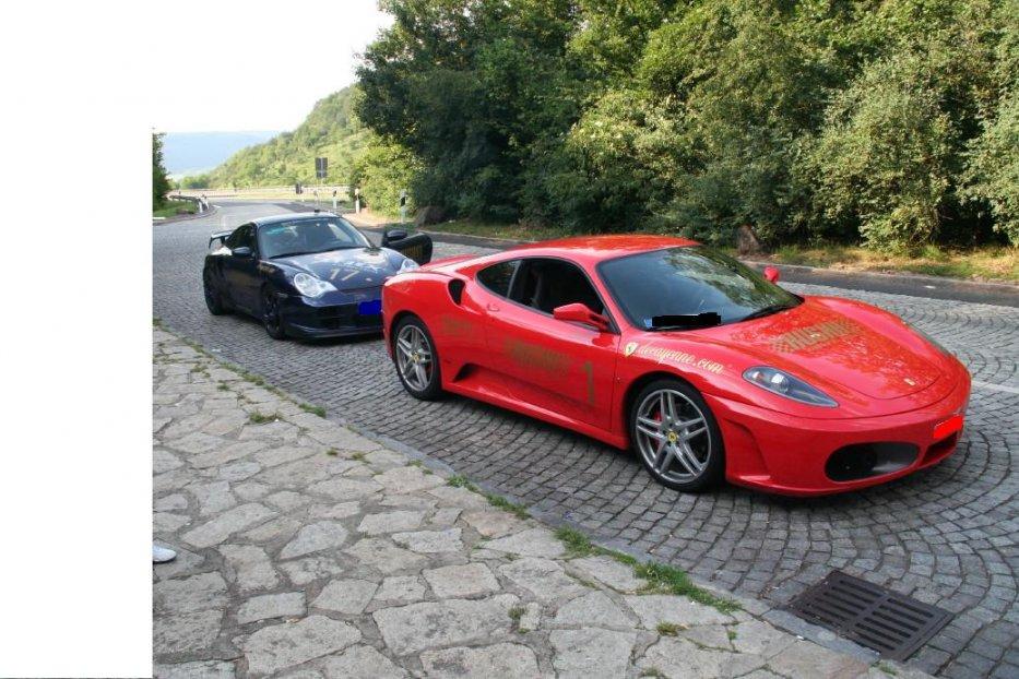 996 Turbo u. 430 Ferrari