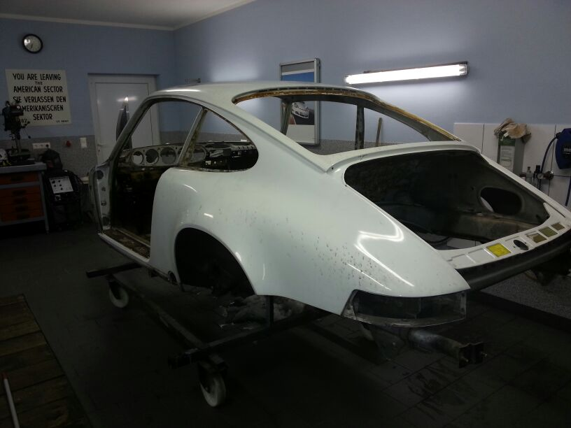 86er Carrera Chassis