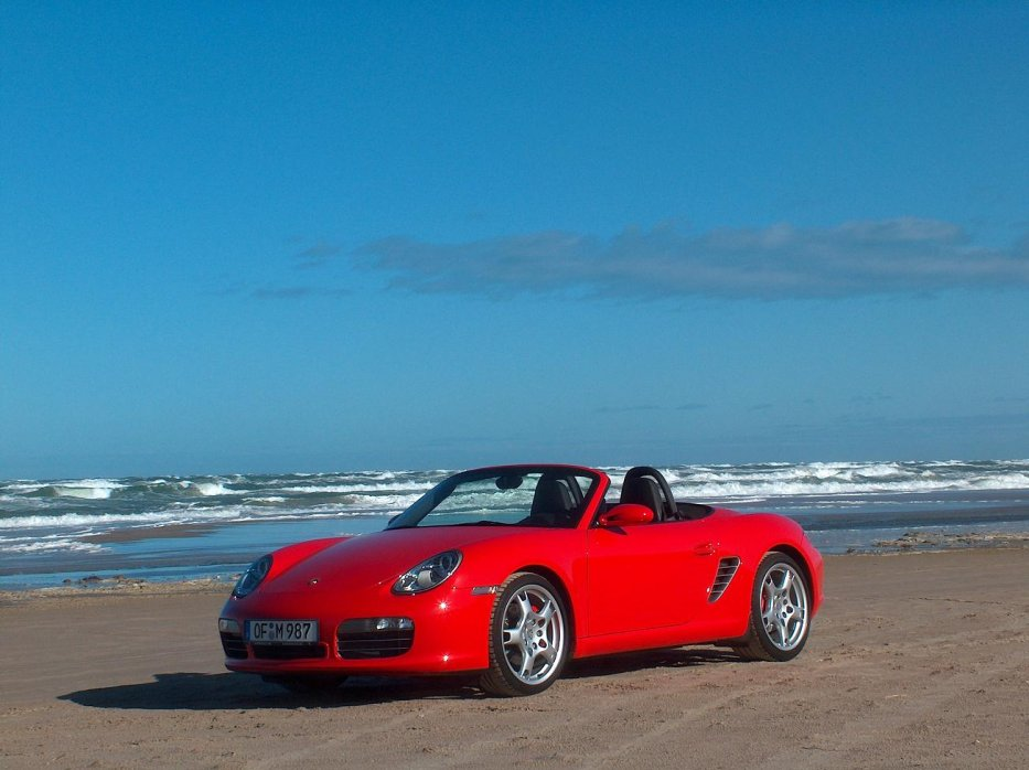 Boxster S am Strand