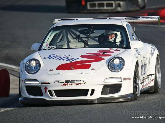 Porsche 997 GT3 Cup by Albert Motorsport