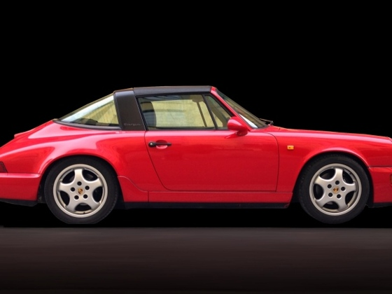 964 Targa freigestellt