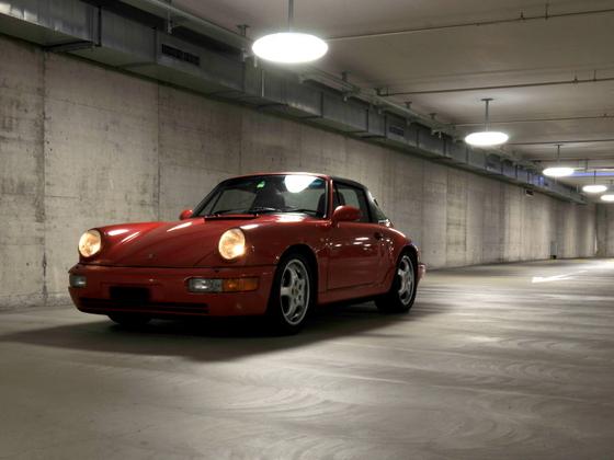 964 Targa in der Garage