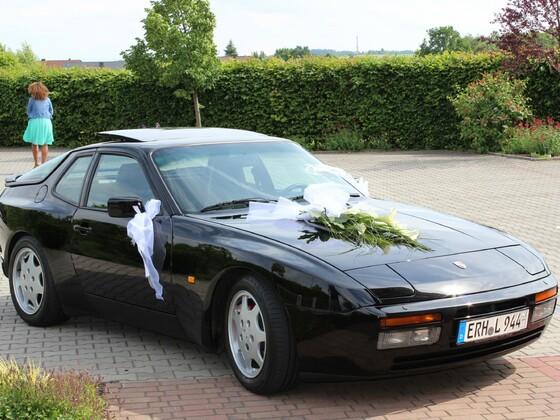 Hochzeitsauto 944 S2