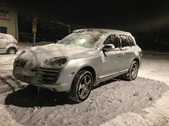 """Porsche Cayenne 957 mit SportTechno 20"""" Felgen"""