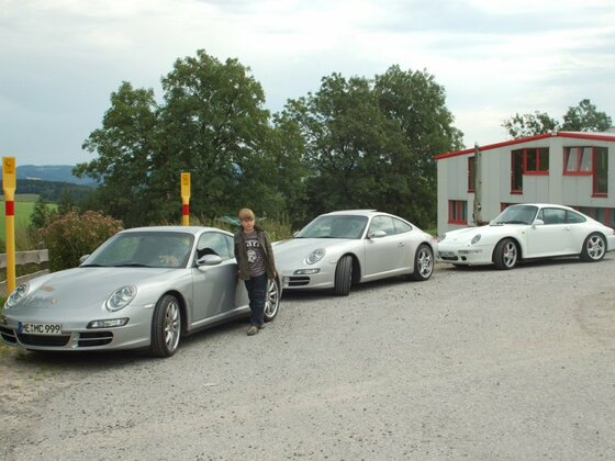 Porsche Ausfahrt 2