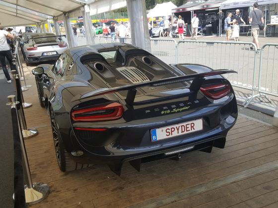 Porsche Days 2018 at Circuit de Spa Francorchamps