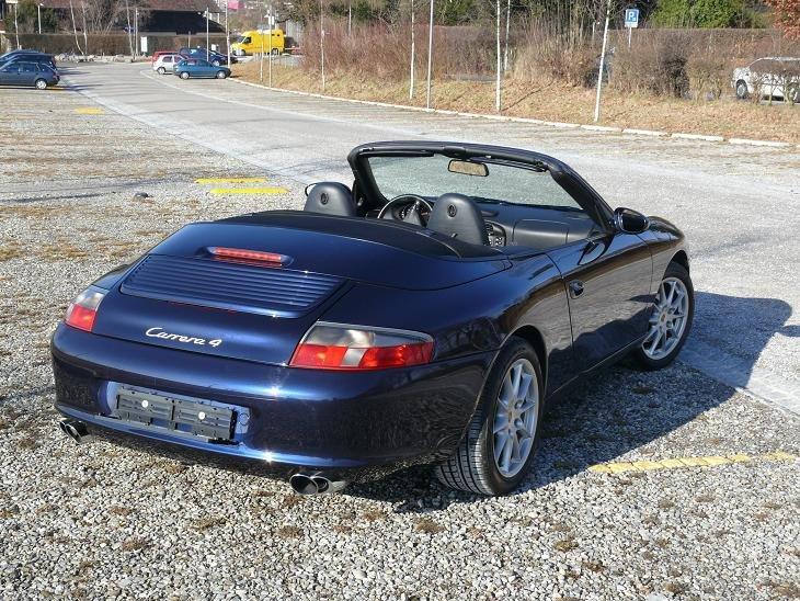 996 C4 Cabrio hinten