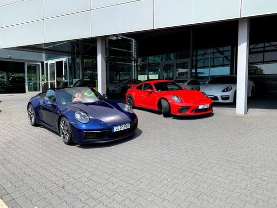 991.2 GT3 und 992 4s Cabrio