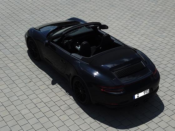 Porsche 911 991.2 c4 GTS Cabriolet Schräg von Hinten