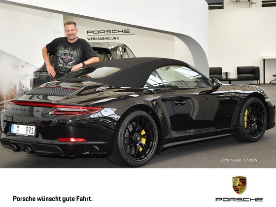 Porsche 911 991.2 c4 GTS Cabriolet Werksabholung