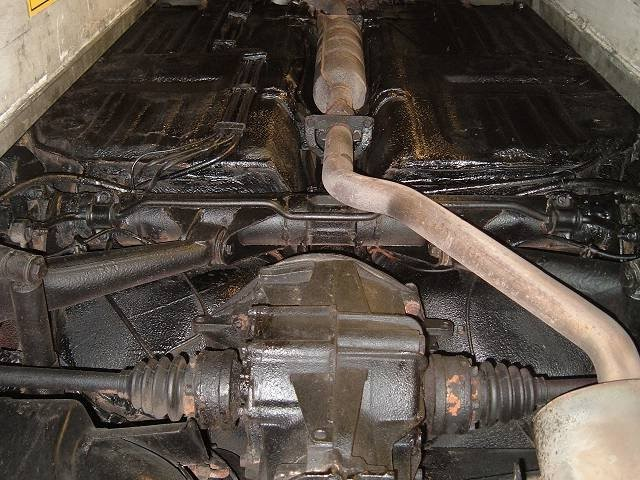 Der 944 Targa nach der Restauration