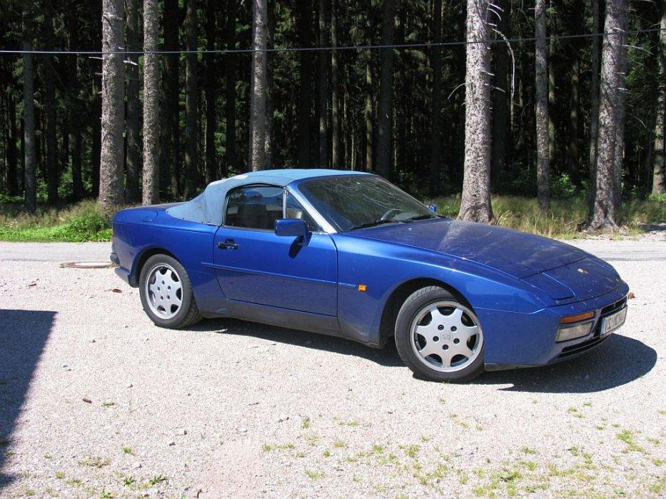 944 S2 Cabrio vor der (Dach-) Restauration