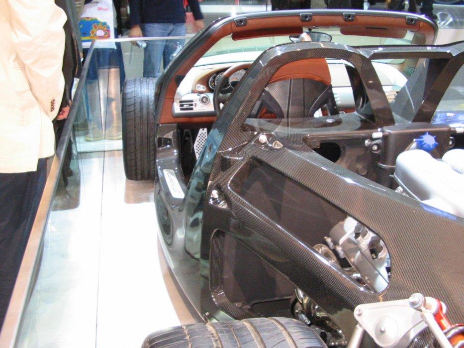 Carrera GT Monocoque