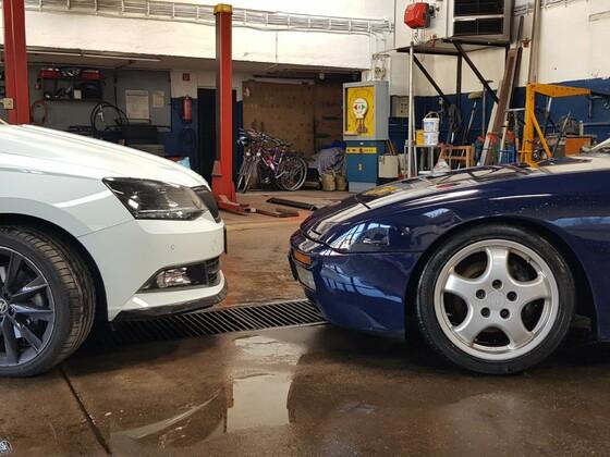 Kleinwagen vs. Porsche