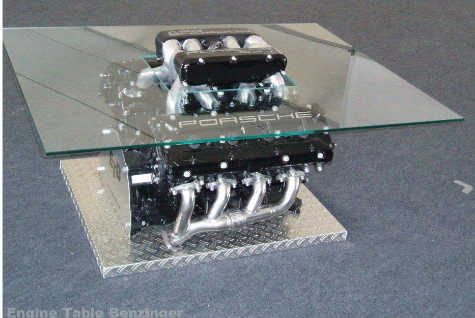 928er Glastisch