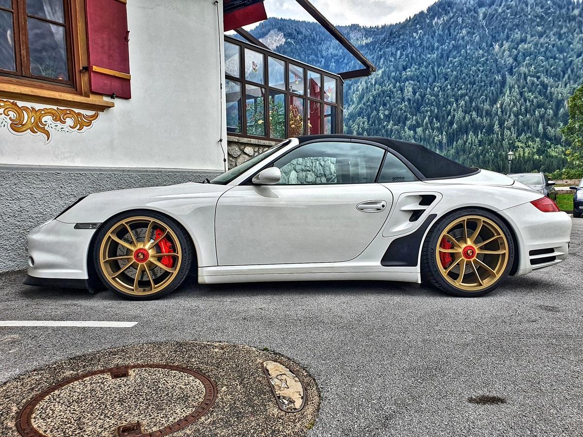 Porsche 997 turbo wingless