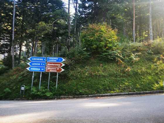 September 2020 Fahrt zum Monterovere / Kaiserjägerstrasse
