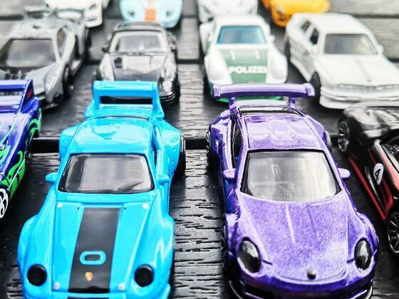 Die Porsche Sammlung meiner Tochter