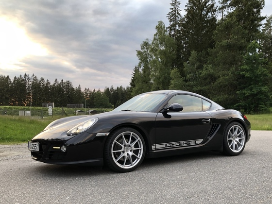 987.2 Cayman R-Suspension