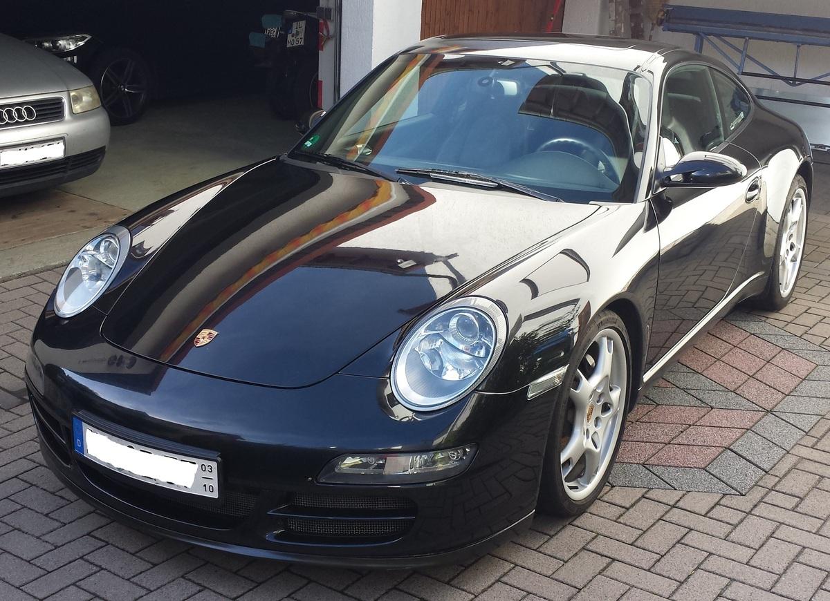 mein 997 Carrera 2 mit GTS-Lippe