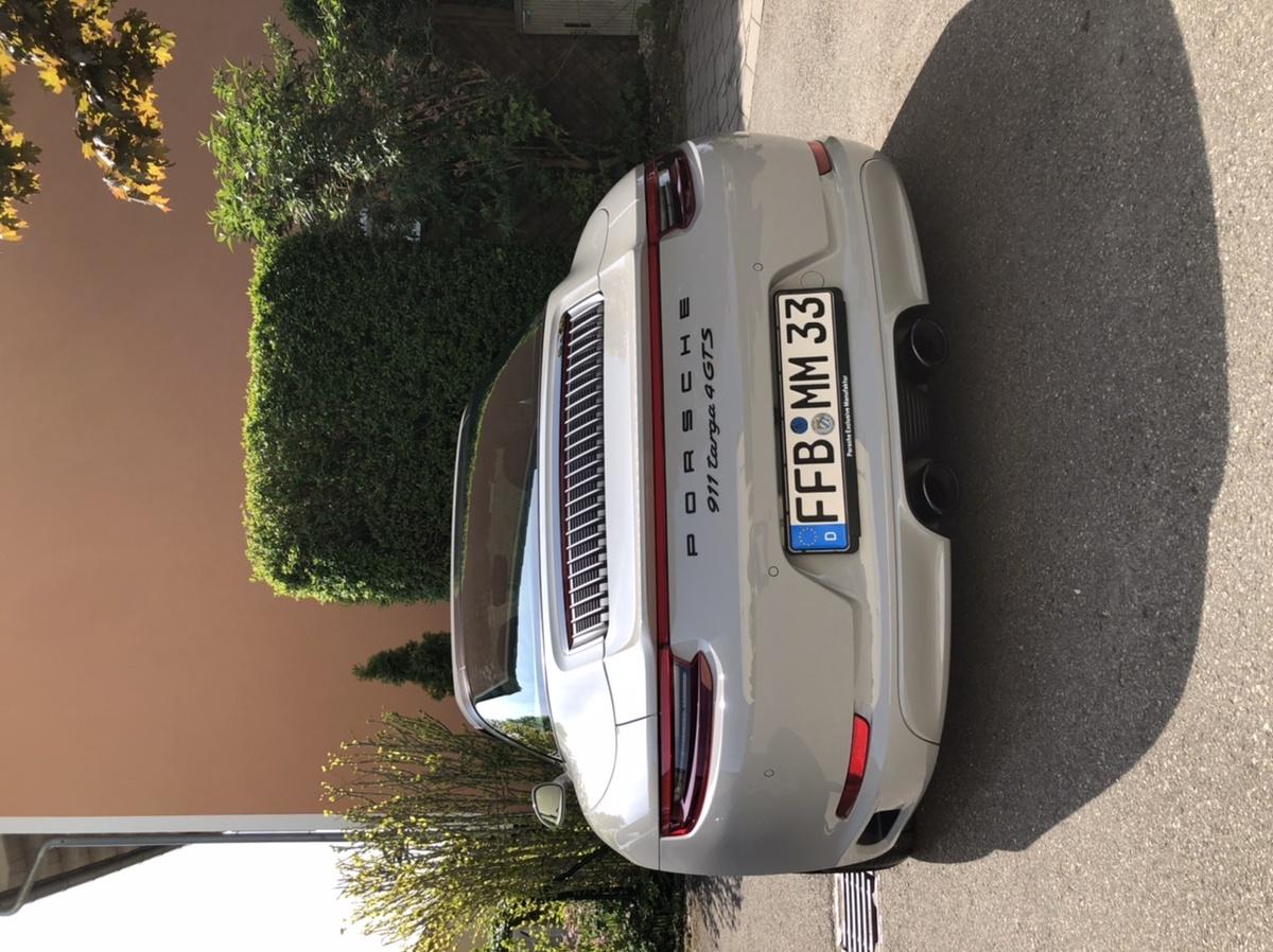 991.2 Targa 4 GTS Kreide