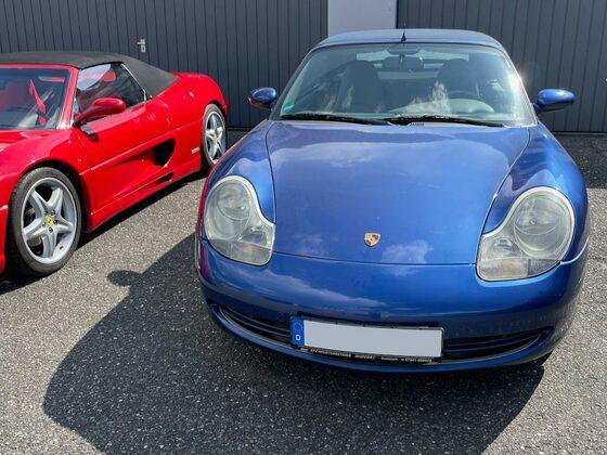 996 Cabrio mit italienischem Bekannten