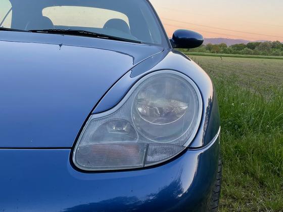 Porsche 996 in der Abendsonne