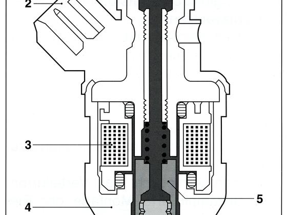 Einspritzventil L-Jetronic Porsche 944