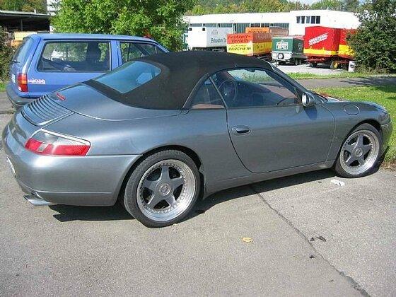Porsche 996 sealgrau